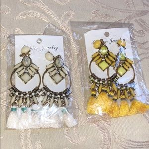 Jewelry - Earrings tassels